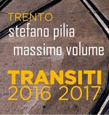 Stefano Pilia - I Massimo Volume a Trento con i side projects e Casa Usher!